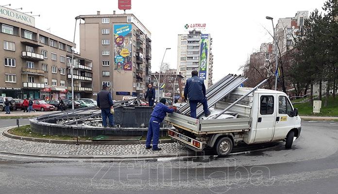 Fontana u centru Zenice uskoro opet u funkciji