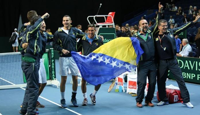 Bh. teniseri danas protiv Slovačke, osiguran prijenos