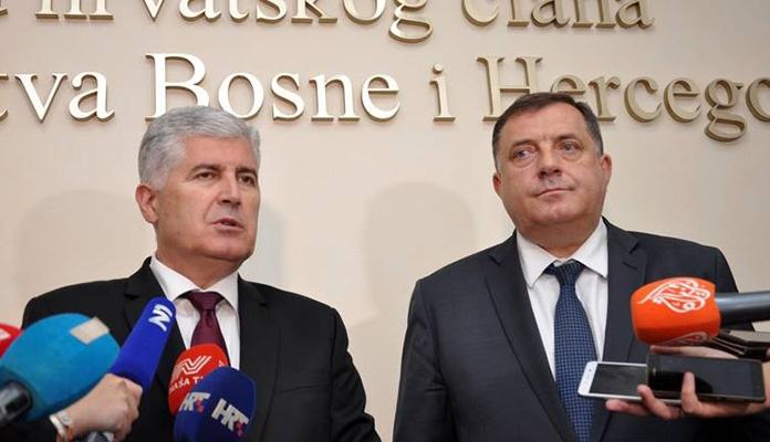 Okončan sastanak u Mostaru: Čović i Dodik se slažu u svemu, osim u optimizmu