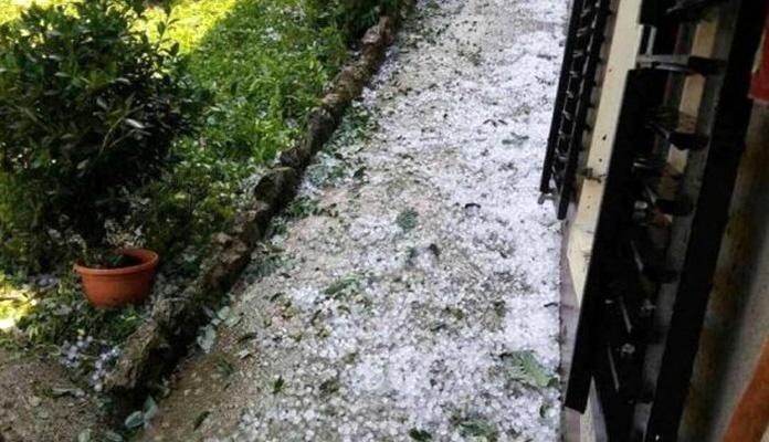 Veliko nevrijeme pogodilo Istru u Hrvatskoj