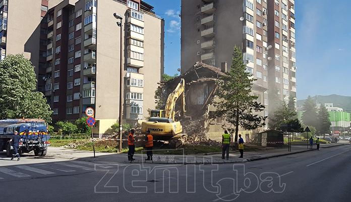 Počela gradnja nove zgrade u centru Zenice (VIDEO+FOTO)