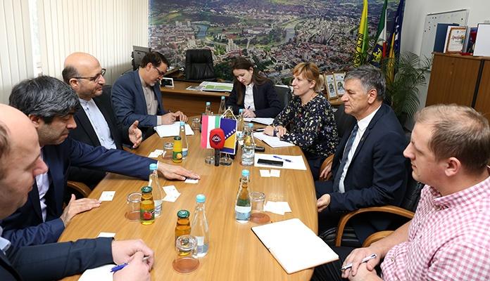 Gradonačelnik Kasumović primio ambasadora Islamske Republike Iran