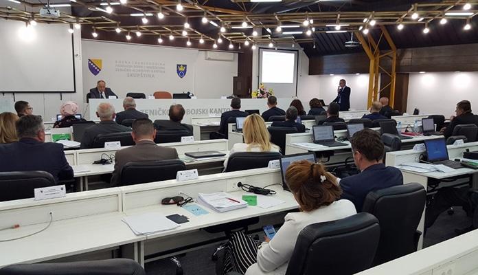 U Zenici nastavak konstituirajuće sjednica Skupštine ZDK