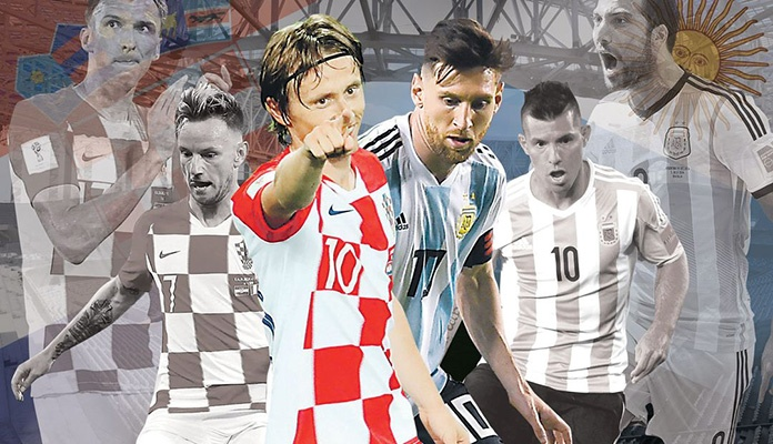 Večeras derbi susret između selekcija Argentine i Hrvatske