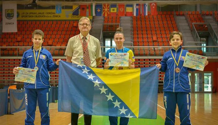 Završeno Balkansko prvenstvo u stonom tenisu