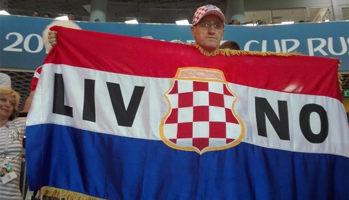 Navijačima Iz Livna Oduzeta Zastava Tzv Herceg Bosne