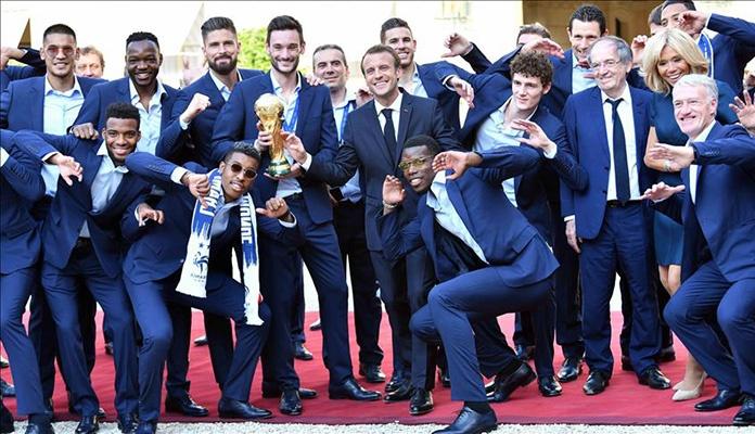 Nogometaši Francuske dočekani u Elizejskoj palači