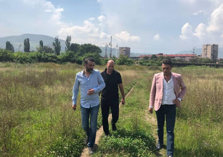 Aydin Olgun sa inžinjerima obišao mjesto buduće Akademije (FOTO)