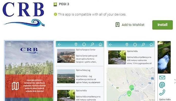 Preuzmite aplikaciju i prijavite divlju deponiju uz rijeku Bosnu