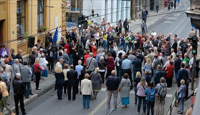 Obilježena godišnjica masakra kod Gradske tržnice u Sarajevu