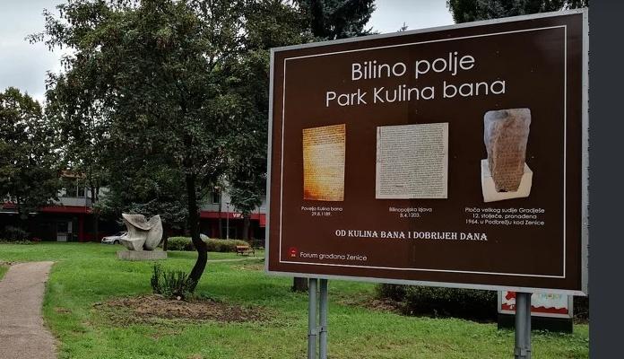 Zeničani organizirali akciju završnog uređenja Parka Kulina bana