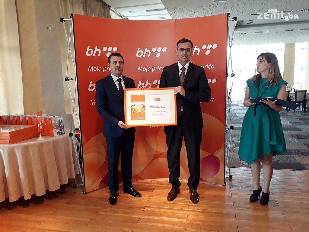 BH Telecom donirao 90.030 KM za 13 pravnih lica u ZDK (FOTO)