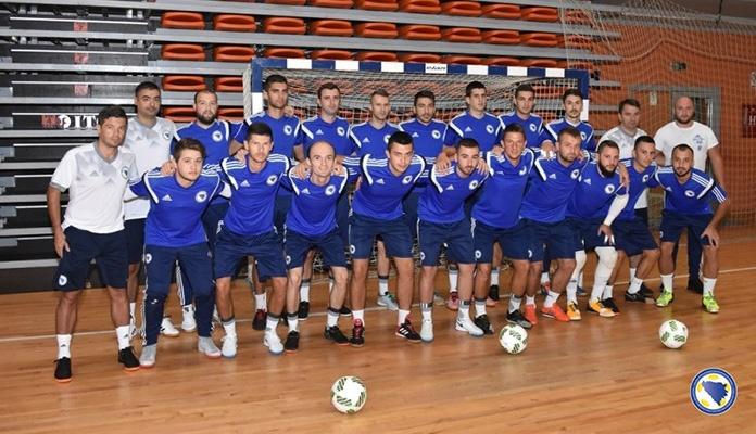 Futsal reprezentativci spremni za turnir u Zenici