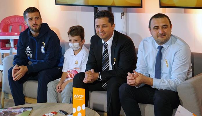 Rođendan BH Telecoma obilježen druženjem sa djecom oboljelom od raka (FOTO)