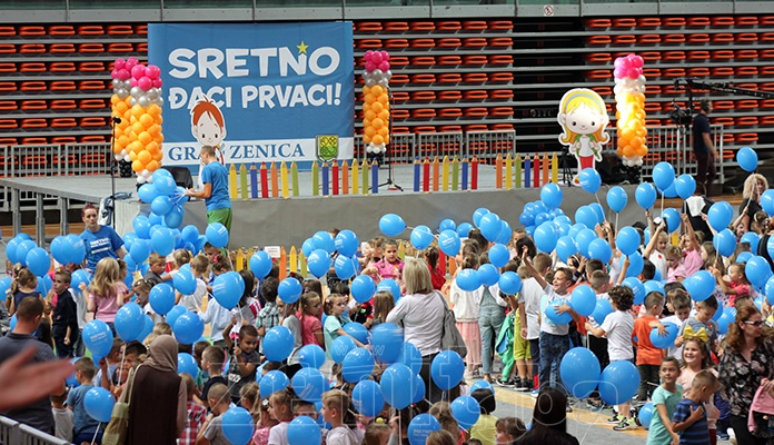 """Manifestacija """"Sretno đaci prvaci"""" i ove godine u Zenici"""
