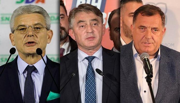 Novi rezultati izbora za članove Predsjedništva BiH