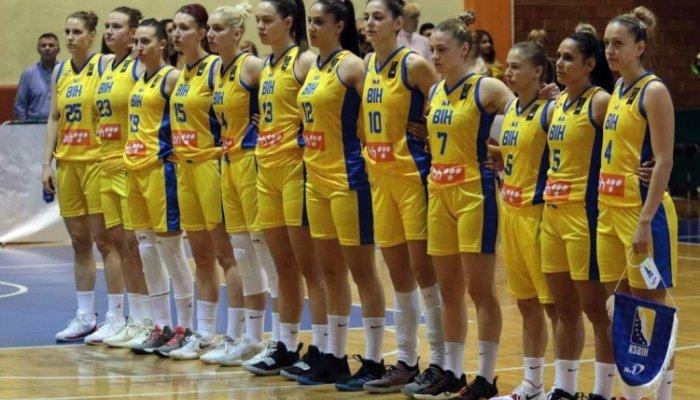 Ženska košarkaška reprezentacija pobijedila reprezentaciju Islanda