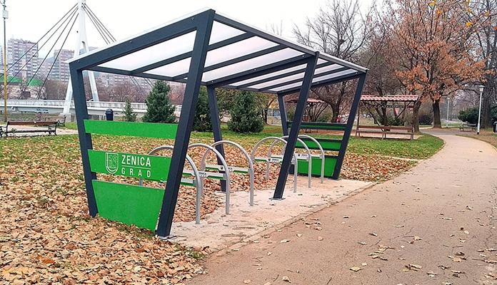 Realizovana druga faza nabavke i ugradnje biciklističkih stajališta u Zenici