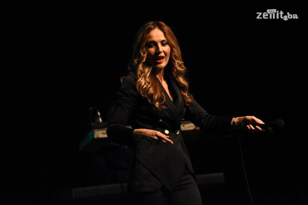 Aleksandra Radović ponovo oduševila publiku u Zenici (FOTO)