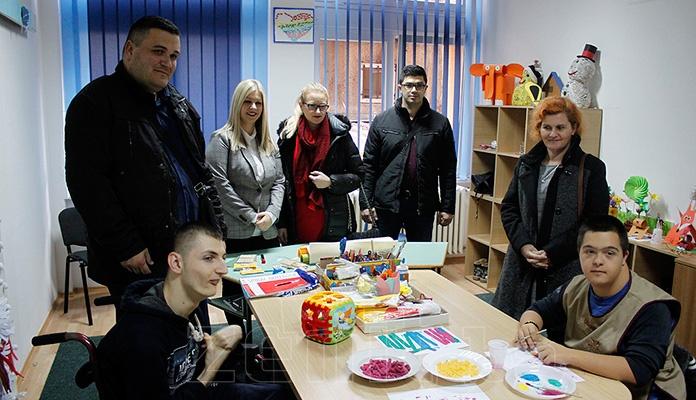 Donacijom opremljene prostorije Škole za odgoj, obrazovanje i rehabilitaciju osoba sa poteškoćama u razvoju u Zenici