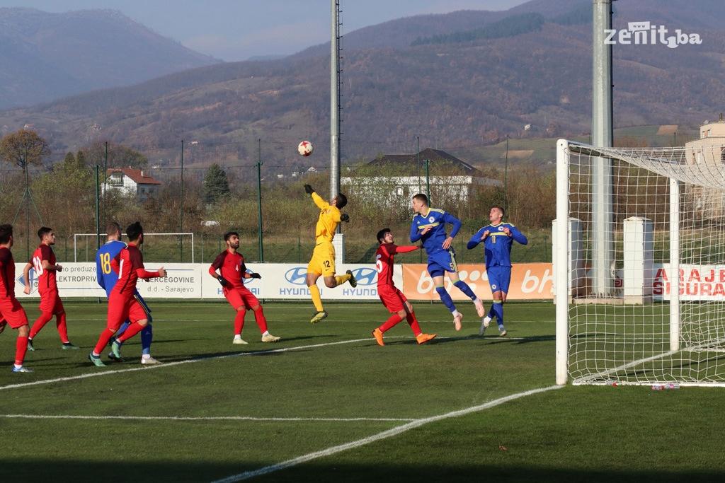 Mlada reprezentacija BiH pobijedila Azerbejdžan u Zenici (FOTO)