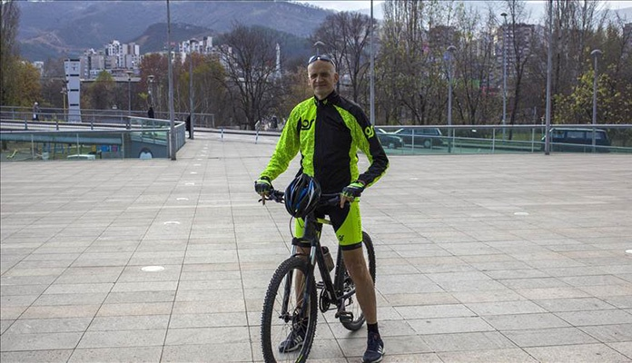 Zeničanin biciklom putuje u Vukovar kako bi odao počast žrtvama