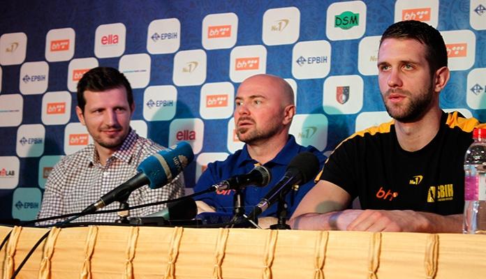 Bosnić: Očekujem da svi daju svoj maksimum u utakmicama