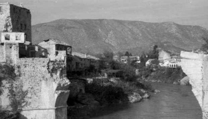 Obilježavanje godišnjice rušenja Starog mosta u Mostaru