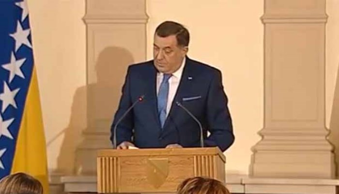 Dodik: Ili ćemo se dogovoriti i postaviti domaće sudije ili neće biti Bosne