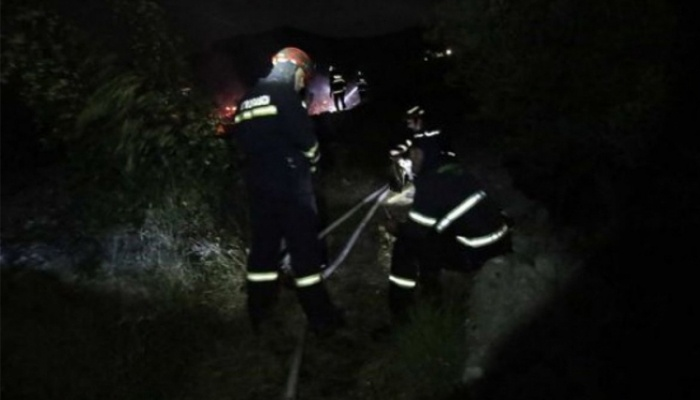 Požar kod Makarske, u luci izgorjela tri broda