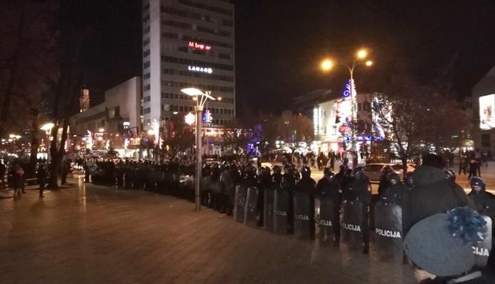 Završen protest građana u Banja Luci, sutra novo okupljanje