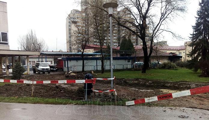 Počeli radovi na izgradnji alternativne saobraćajnice za vozila Hitne pomoći (FOTO)