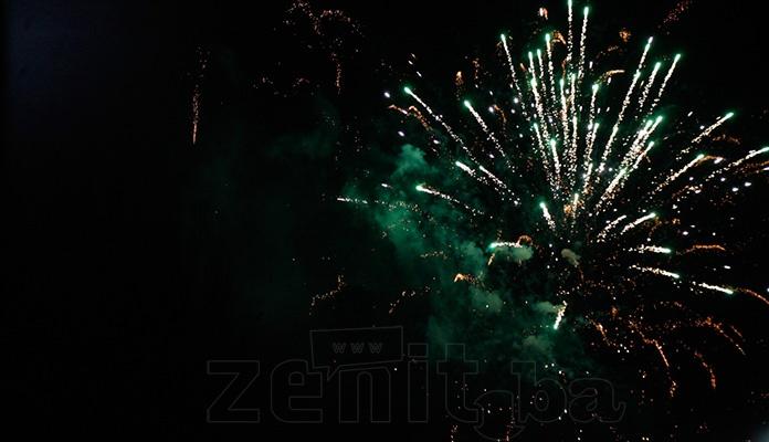 Večeras u Zenici 'Bajramski Vatromet' povodom završetka ramazana i dolazak Bajrama