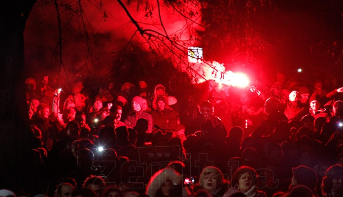 Zeničani bez incidenata dočekali Novu godinu