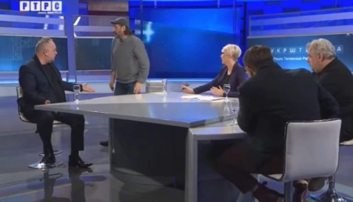 Sejo Sexon iznerviran napustio studio RTRS-a (VIDEO)