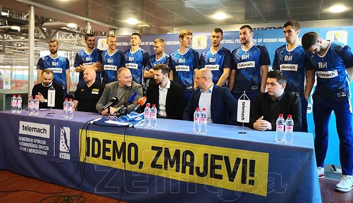 Košarkaška reprezentacija večeras protiv Češke