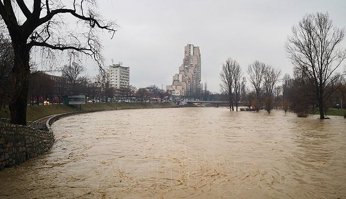 Nivo rijeka u laganom padu, nema prijetnji od poplava u BiH