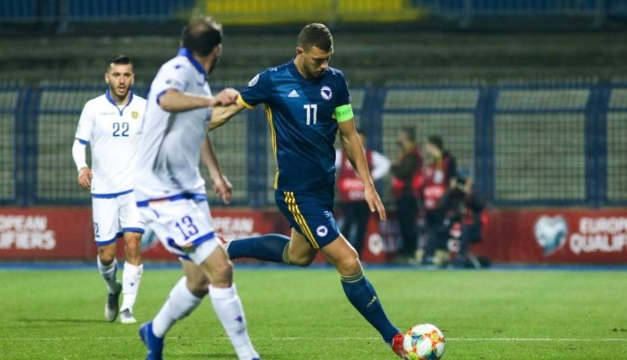 Bosna i Hercegovina protiv Armenije na Grbavici 2:1