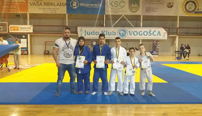 Džudo klub Zenica osvojio pet medalja na Prvenstvu Federacije BiH