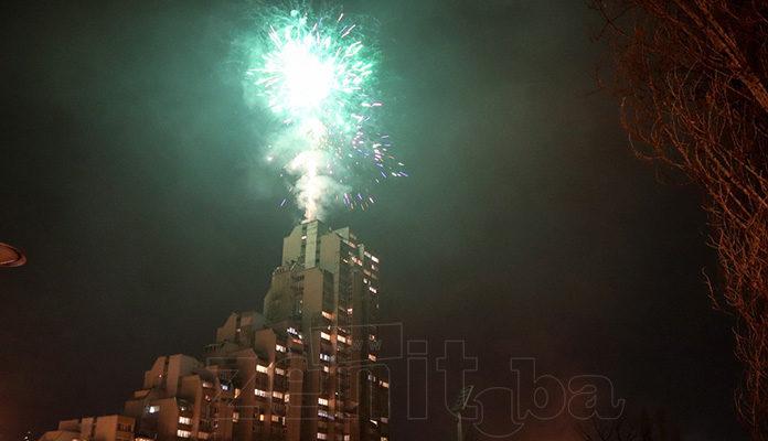 Zeničani doček Nove godine proslavili bez incidenata