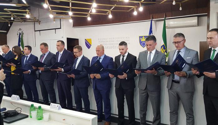 Zeničko-dobojski kanton dobio novu Vladu, premijer Mirza Ganić