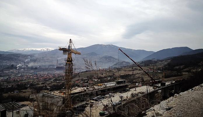 Pogledajte kako izgleda gradilište na Zeničkoj obilaznici (FOTO)
