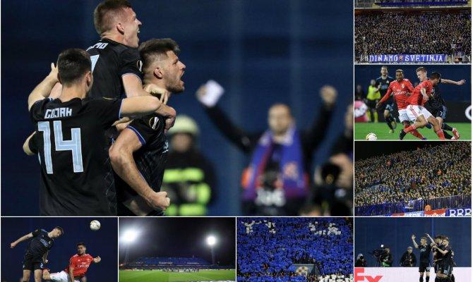 Dinamo Zagreb odnio pobjedu nad Benficom na domaćem terenu