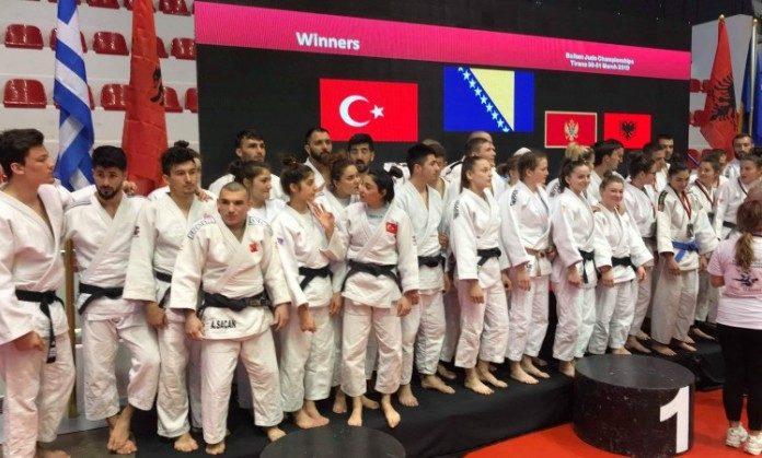 Džudo reprezentacija Bosne i Hercegovine odbranila titulu prvaka