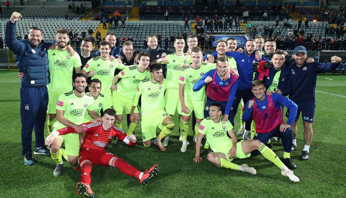 Bh. reprezentativac donio Dinamu dvadesetu titulu prvaka Hrvatske