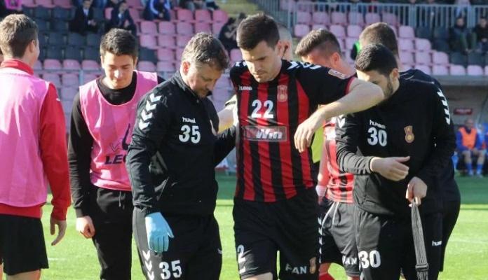 Završena sezona za sjajnog defanzivca Čelika