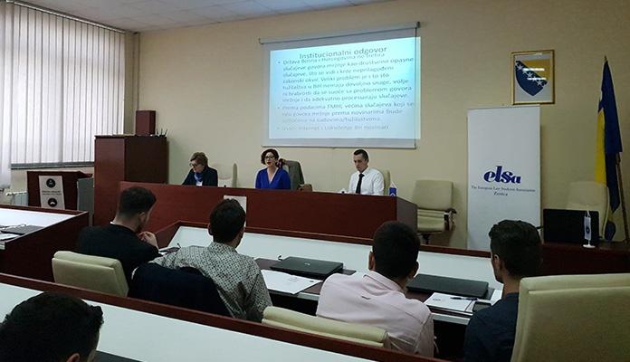 Seminar na Pravnom fakultetu Univerziteta u Zenici