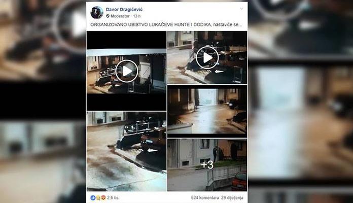 Davor Dragičević objavio snimke kojima želi dokazati ubistvo sina Davida