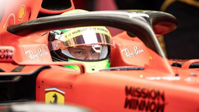 Mick Schumacher jutros u bolidu Ferrarija debitovao u Formuli 1 (VIDEO)