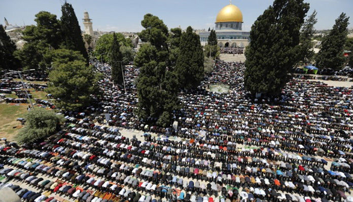 U Al-Aksi džamiji džumu-namaz klanjalo 200.000 vjernika